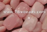 COP427 15.5 inches 13*18mm rectangle Chinese pink opal gemstone beads