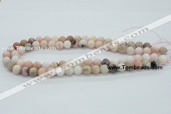 COP44 10mm smooth round natural pink opal beads Wholesale