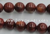COP513 15.5 inches 12mm round red opal gemstone beads wholesale