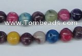 COP853 15.5 inches 8mm round dyed African opal gemstone beads