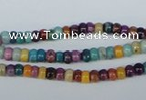 COP861 15.5 inches 3*4mm rondelle dyed African opal gemstone beads