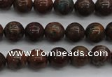 COP953 15.5 inches 10mm round green opal gemstone beads wholesale