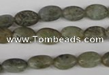 COV51 15.5 inches 8*12mm oval labradorite beads wholesale