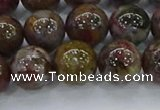 CPB1001 15.5 inches 8mm round pietersite beads wholesale