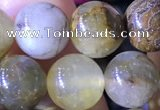 CPB1025 15.5 inches 9mm round natural pietersite beads