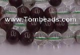 CPC02 15.5 inches 6mm round green phantom quartz beads wholesale
