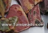 CPJ382 15.5 inches 18*25mm - 32*48mm freeform picasso jasper beads