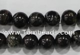 CPM03 15.5 inches 10mm round plum blossom jade beads wholesale