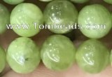 CPO45 15.5 inches 8mm round natural olivine gemstone beads