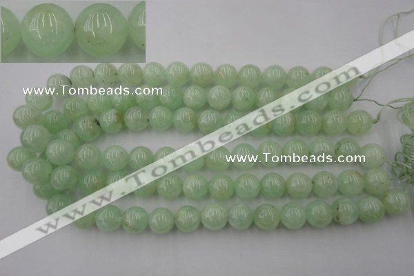 CPR105 15.5 inches 14mm round natural prehnite beads wholesale