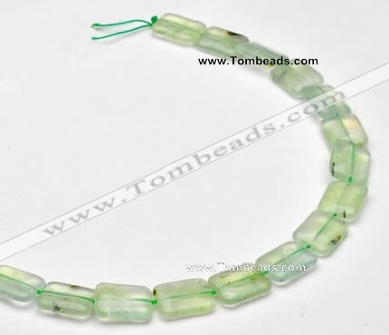 CPR12 A grade 12*16mm rectangle natural prehnite gemstone beads