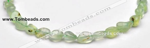CPR18 A grade 12*14mm freeform natural Prehnite gemstone beads
