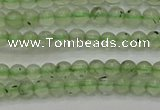 CPR310 15.5 inches 4mm round natural prehnite gemstone beads