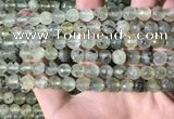 CPR358 15.5 inches 8mm faceted round prehnite beads wholesale