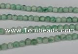 CQJ201 15.5 inches 4mm round Qinghai jade beads wholesale