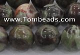 CRA116 15.5 inches 18mm round rainforest agate beads