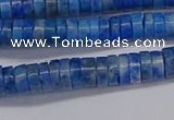 CRB1026 15.5 inches 2*5mm heishi lapis lazuli beads wholesale