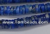 CRB1027 15.5 inches 2*6mm heishi lapis lazuli beads wholesale