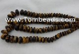 CRB1115 15.5 inches 5*8mm - 9*18mm rondelle tiger eye beads