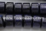 CRB186 15.5 inches 10*16mm rondelle blue dumortierite beads