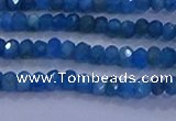 CRB1900 15.5 inches 2*3mm faceted rondelle apatite beads
