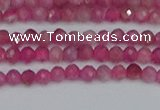 CRB1935 15.5 inches 2*3mm faceted rondelle pink tourmaline beads