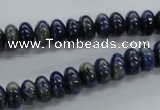 CRB20 15.5 inches 5*8mm rondelle sodalite gemstone beads