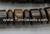 CRB200 15.5 inches 6*18mm � 13*18mm rondelle bronzite gemstone beads