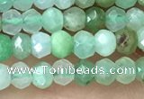 CRB2239 15.5 inches 2*3mm faceted rondelle Australia chrysoprase beads