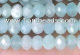 CRB2270 15.5 inches 3*4mm faceted rondelle amazonite beads