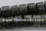 CRB256 15.5 inches 10*14mm rondelle labradorite gemstone beads
