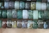 CRB2560 15.5 inches 2*4mm heishi Indian agate beads wholesale