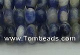 CRB2881 15.5 inches 5*8mm rondelle sodalite beads wholesale