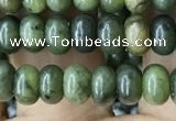 CRB4041 15.5 inches 4*6mm rondelle Canadian jade beads wholesale
