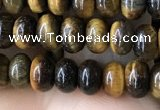 CRB4044 15.5 inches 4*6mm rondelle yellow tiger eye beads wholesale