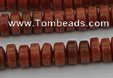 CRB421 15.5 inches 5*8mm rondelle goldstone beads wholesale