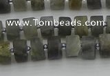 CRB482 15.5 inches 5*8mm tyre labradorite gemstone beads