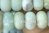 CRB5070 15.5 inches 5*8mm rondelle matte amazonite beads wholesale