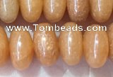 CRB5330 15.5 inches 5*8mm rondelle red aventurine beads