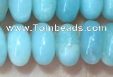 CRB5332 15.5 inches 5*8mm rondelle Chinese amazonite beads