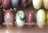 CRB5358 15.5 inches 5*8mm rondelle mookaite beads wholesale