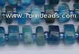 CRB537 15.5 inches 6*10mm tyre apatite gemstone beads wholesale