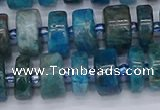 CRB538 15.5 inches 6*12mm tyre apatite gemstone beads wholesale