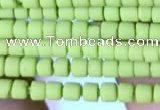 CRB5519 15 inches 2*2mm heishi synthetic turquoise beads wholesale