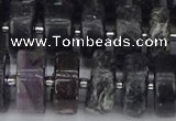 CRB635 15.5 inches 8*16mm tyre charoite gemstone beads