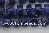 CRB639 15.5 inches 6*10mm tyre sodalite gemstone beads