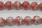 CRC103 15.5 inches 12mm round natural argentina rhodochrosite beads
