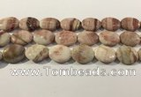 CRC1079 15.5 inches 18*25mm oval rhodochrosite beads wholesale