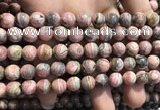 CRC1151 15.5 inches 9mm round rhodochrosite gemstone beads