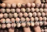 CRC1152 15.5 inches 10mm round rhodochrosite gemstone beads